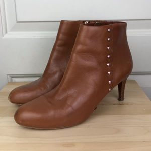 Coach studded Booties. Size 8.5